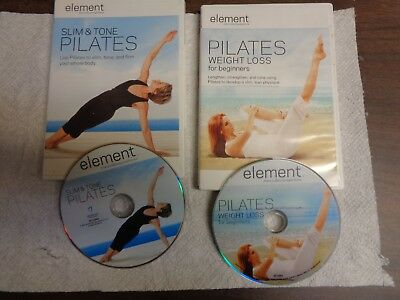 "Usado DVD Largo & Lean Pilates 2-DVD Disco"" Gu"