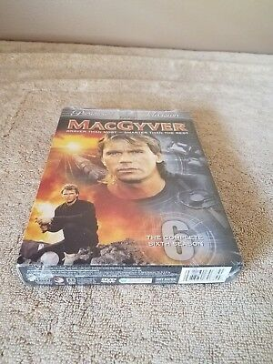 MACGYVER~The Complete Sixth Season (DVD) ~ BRAND NEW ~ SEALED!