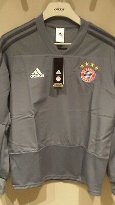 f57f37c977a5 Adidas Bayern Munchen 2018-19 Men EU Training Top Football Soccer Jersey  CW7319