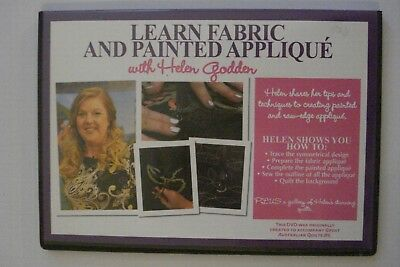 - Quiliting [Dvd] # 4 Learn Fabric And Painted Applique [Region 4] Brand New