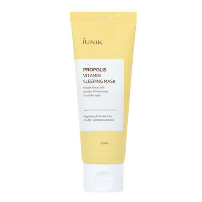 Iunik Propolis Vitamin Sleeping Mask 60ml / Free Gift / Korean Cosmetics