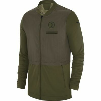Pittsburgh Steelers NFL 2018 Mens Salute To Service Hybrid Jacket