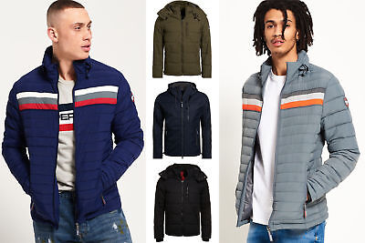 New Mens Superdry Jackets Selection - Various Styles & Colours 2310182