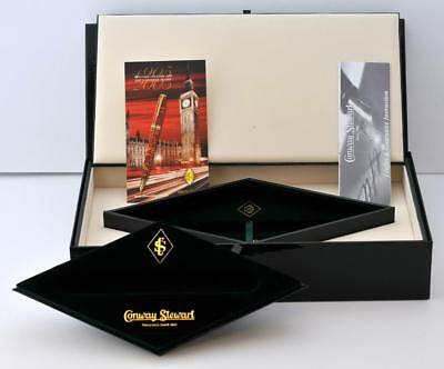 Rare Conway Stewart 100 Anniversary Empty Box For Limited Edition Fountain Pen