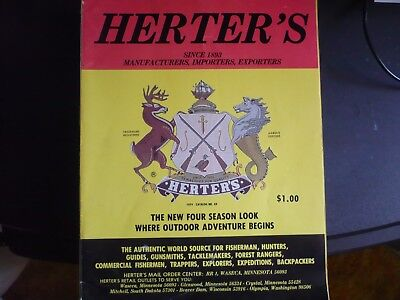 4 (four) HERETER'S 1970'S VINTAGE CATALOGUES