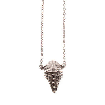 Treaty Jewellery silver plated Matador pendant Necklace & gift pouch, bohemian