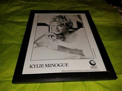 KYLIE MINOGUE record label issued 8x10 photograph