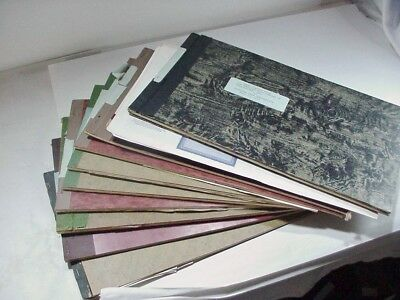 9 BOOKS(+) OF ABOUT 250 STOCK CERTIFICATES - MOST ARE UNUSED  - SOME USED 1950's