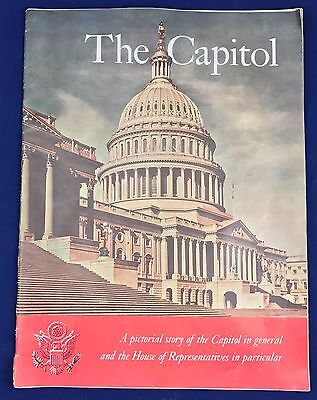 """VTG """"The Capitol"""" Pictorial Story of the Capitol & House of Representatives 1959"""