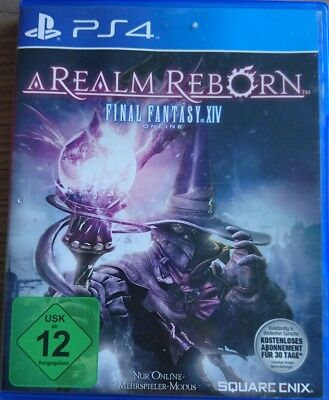Final Fantasy XIV: A Realm Reborn (Sony PlayStation 4, 2014, DVD-Box)