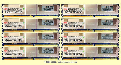 64GB 8x 8GB PC2-5300F FB DIMM DDR2 667 ECC REG Memory FIT Dell 1950 III 2950 III