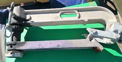 "Campbell Specialty 28"" Helicopter Stringing Block Max 10000 No Sheave Frame Only"
