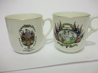 1924 & 1925 British Empire Exhibition  - 2 Commemorative Cups
