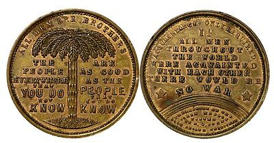Australia Federation of the World  All Men are Brothers Cole's Book Arcade Token