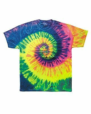 Multi-Color Tie Dye T-Shirts, Adult S M L XL 2XL 3XL 4XL 5XL Gildan 100% Cotton