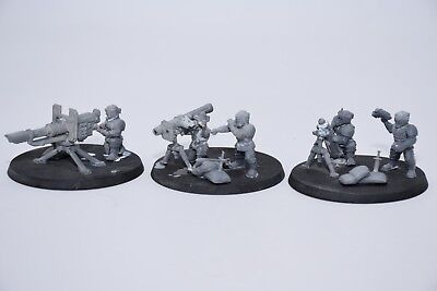 Imperial Guard Catachan Heavy Weapons Missile Launcher Bits