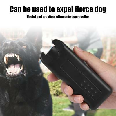 Ultrasonic Dog Chaser Stop Aggressive Animal Attacks Repeller Dog Bark Stopper