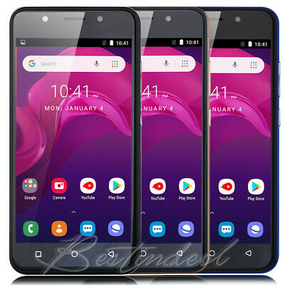 """Android 8.1 Unlocked 5.0"""" Cell Phone Quad Core Dual SIM 3G T-Mobile Smartphone"""