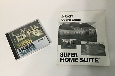 Punch! Super Home Suite Windows software and User's Guide