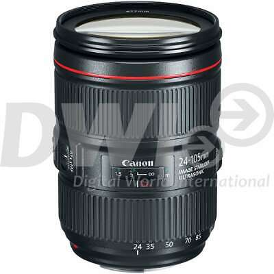 Canon EF 24-105mm f/4L IS II USM Lenses (White Box) with HOYA 77mm Filter