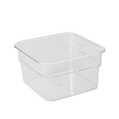 Square Storage Container 1.9L Dry Wet Ingredients Food Restaurant Cafe Kitchen