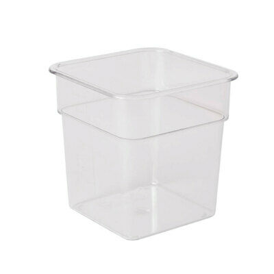 Square Storage Container 3.8L Dry Wet Ingredients Food Restaurant Cafe Kitchen