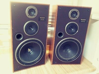 """Technics SB-LX70 Vintage 12"""" Speakers Rare FOR REPAIR SHIPS FREE AS IS"""