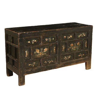 Chinese Cupboard Lacquered Wood China Late 1800s