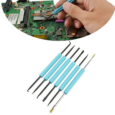6x Desoldering Aid Tool Circuit Board Soldering Aid PCB Cleaning Kit 6A