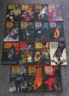 BPRD Hell on Earth - COMPLETE graphic novel set 1-15