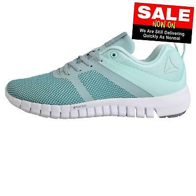 c53768d2a63 Reebok Z Quick Lite 2.0 Womens Running Shoes Fitness Gym Trainers Green