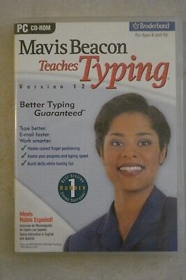 - MAVIS BEACON TEACHES TYPING [PC CD-ROM] By BROADBAND [BRAND NEW] $24.75