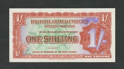 BRITISH ARMED FORCES 1 sh  1948-59  2nd series  Uncirculated  Banknotes