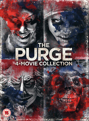 The Purge: 4-movie Collection DVD (2018) Ethan Hawke ***NEW***