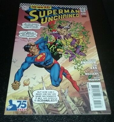 Superman: Unchained #5 Silver Age Lopez 1:50 Variant 9.4 NM