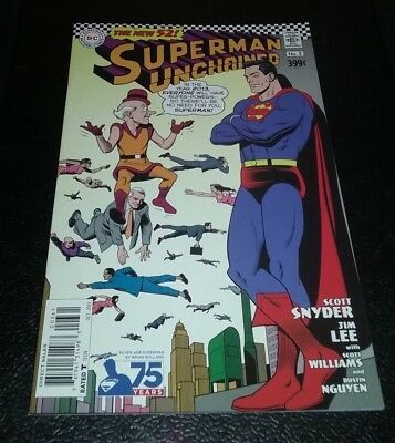 Superman: Unchained #3 Silver Age Brian Bolland 1:50 Variant 9.4 NM