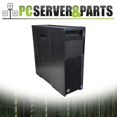 HP - Z640 Workstation Barebone 2011-3 MOBO w / 2nd CPU Cage & Heatsinks 925W PSU