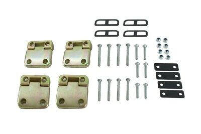 Land Rover Defender Rear Doors Hinges & Bolts Complete Kit Bearmach Bk0351 New