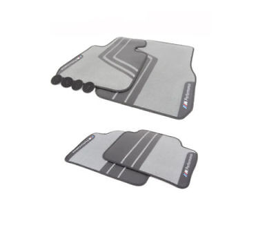New Genuine BMW 3' F30 F80 F31 M Performance LHD Front Rear Floor Mats Set OEM