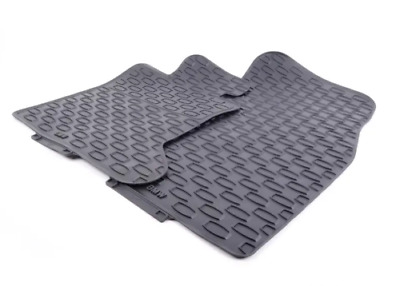 New Genuine BMW 5 Series E60 E61 Front Rubber Floor Mats All-Weather LHD 2409278