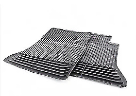 New Genuine BMW 5 F07 Rubber Floor Mats Black All Weather Front 2152348 OEM