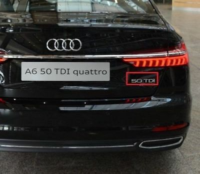 "New Genuine AUDI A6 Allroad A6/S6 A7 Rear Trunk Emblem ""50 TDI"" 4G0853744E2ZZ"