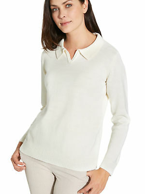 48e3888f0bfd5 BALSAMIK - PULL col polo - femme - EUR 39,99   PicClick FR
