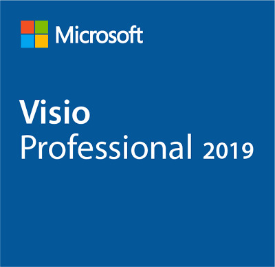 Microsoft Visio 2019 Professional for 1PC Windows(Add to your Microsoft account)