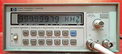 HP - Agilent - Keysight 5384A Frequency Counter SN:2436A02134