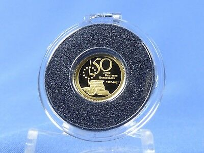 Palau 1 Dollar 200750 J Bundesbank 05 Gramm 999 Gold Proof