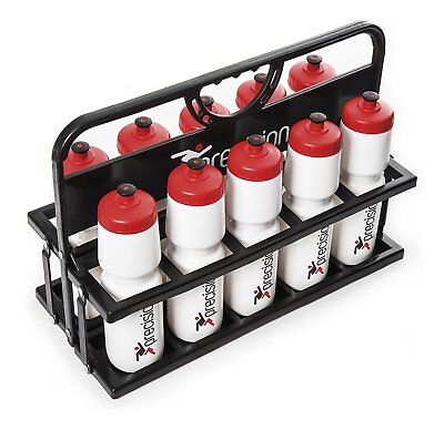 Precision Folding Bottle Carrier Sports Drinks Water Holder - Holds 10 Bottles