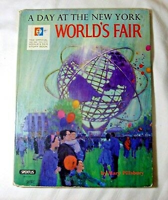 """Vintage>""""A Day At The New York World's Fair"""">Official Story Book>1964-1965"""