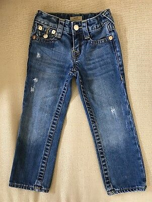 True Religion Kids Geno Relaxed Slim Jeans Size 4T