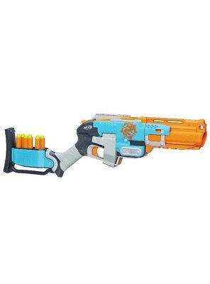 Nerf-N Strike Zombie Strike Sledgefire Blaster New In Box (Discontinued)